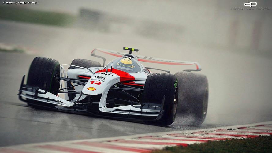 F1 araçları umarız 2025'te bu kadar güzel görünür