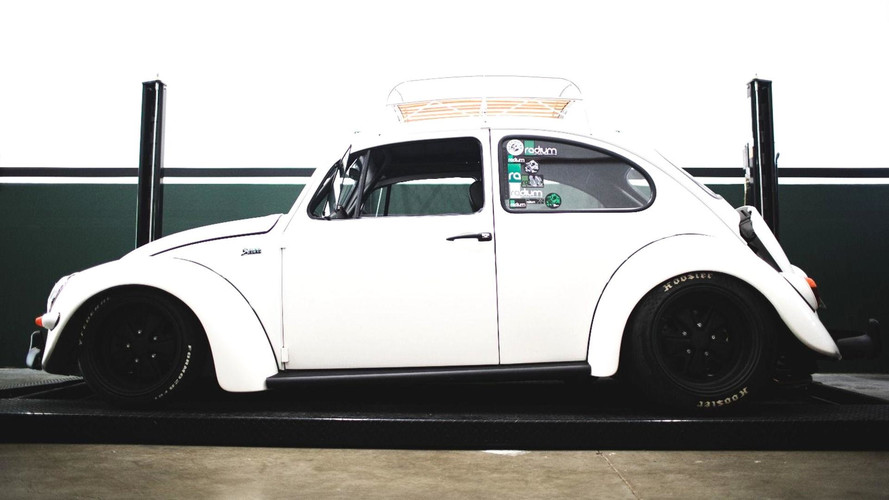 This Bonkers VW Beetle Has Subaru STI Power And It's For Sale