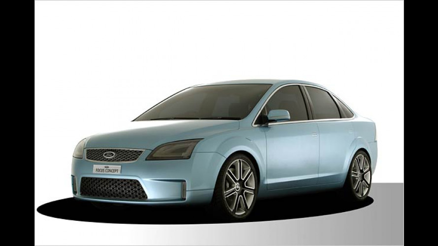 Erste Bilder vom Ford Focus: Viertürer-Studie vorgestellt