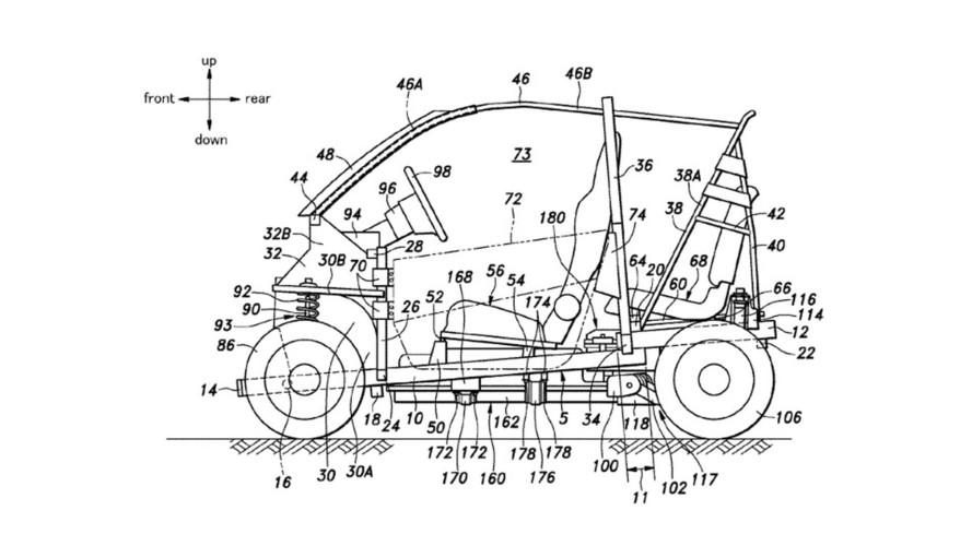 Honda Patent Shows Design For New, Bubbly City EV