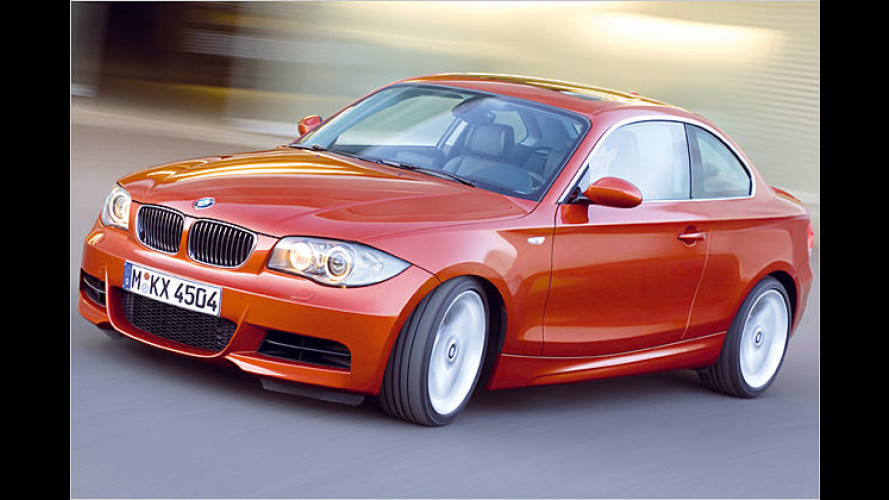 BMW 1er Coupé: Eleganz und Effizienz mit Flachdach