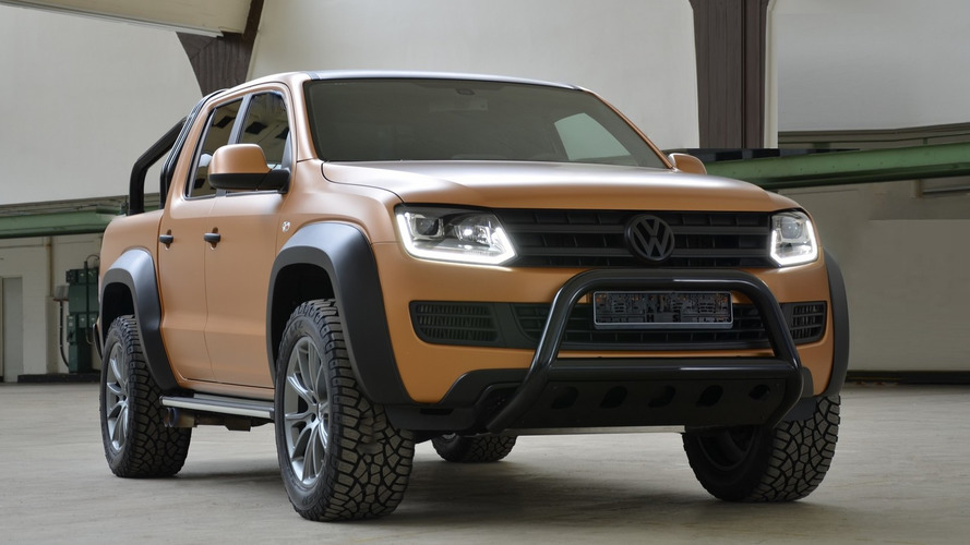 VW Amarok V8 Passion Desert Edition unveiled, costs $217k