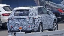 2018 Mercedes GLE spy photo