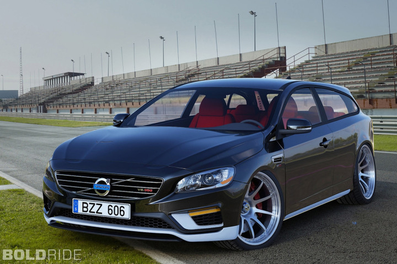 Volvo V60 2-Door Estate Concept is one Hot V8 Hatchback