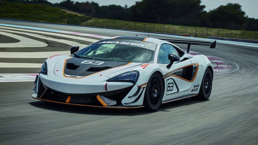McLaren 570S Sprint track car revealed ahead of Goodwood