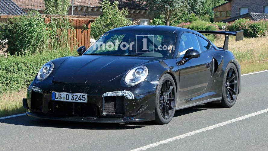 Porsche 911 GT2 fotos espía