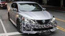 2017 Nissan Sentra NISMO spy photos