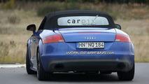 Audi TT-RS Roadster salakuvissa