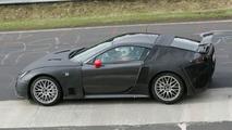 Lexus LF-H Supercar Spy Photos