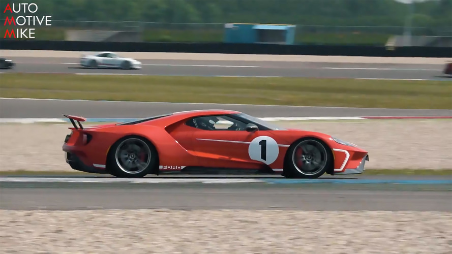 The Ford GT Heritage Edition Looks Fantastic On Track