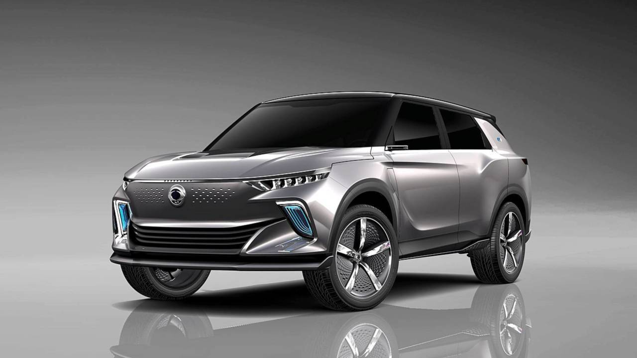 SsangYong: SUV eléctrico 2019
