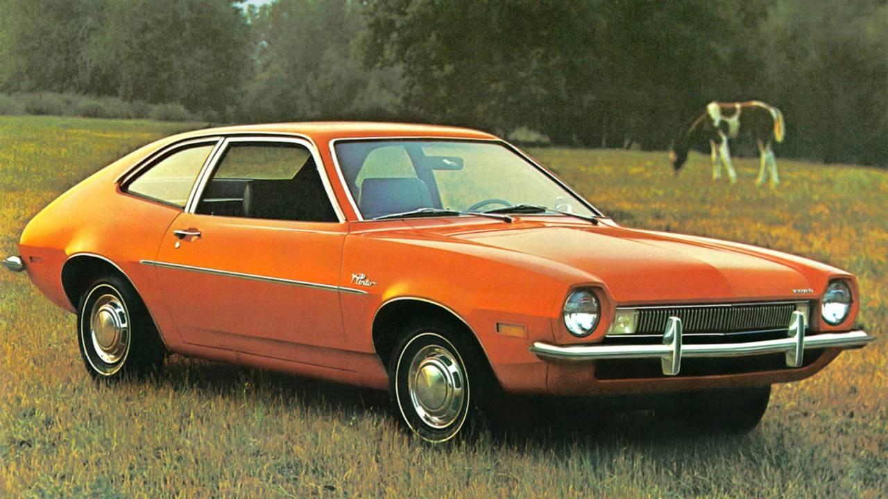 9. Ford Pinto'nun patlayan yakıt deposu