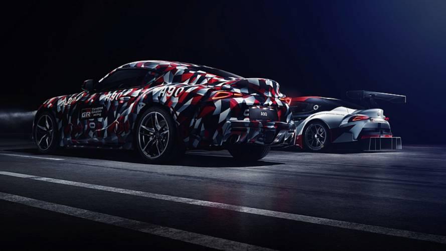 Toyota Supra - La partie de cache-cache continue