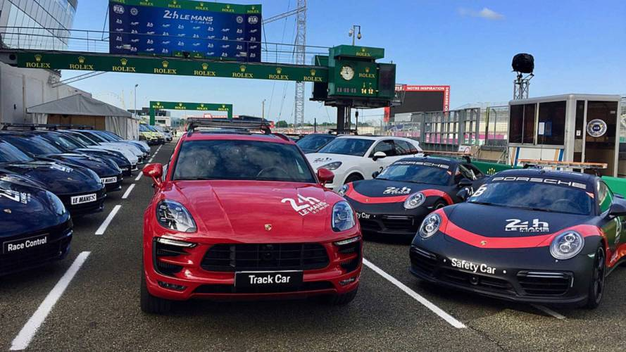 See Porsche's Cool Collection Of Safety Vehicles At Le Mans