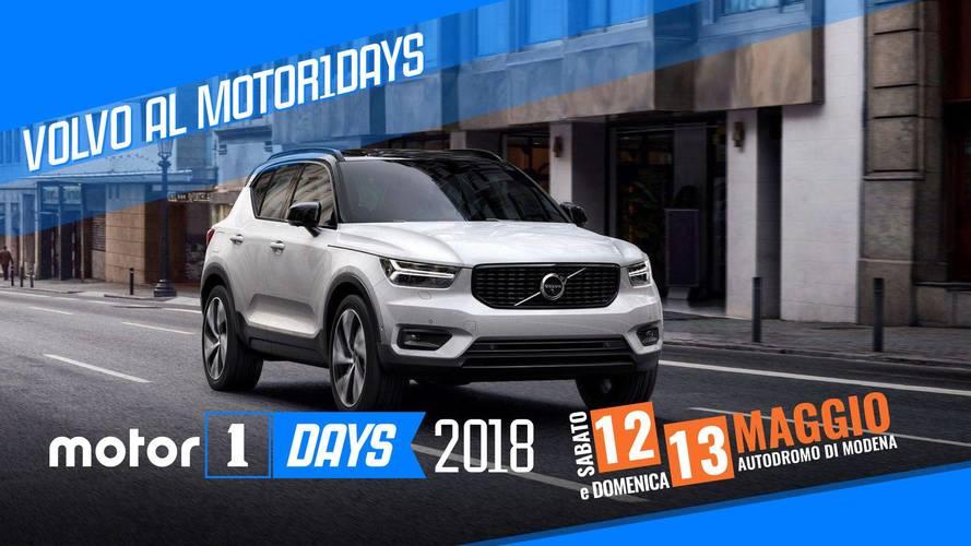 Volvo sfila ai Motor1Days da protagonista del 2018