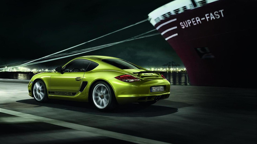 Porsche Cayman R revealed ahead of LA Auto Show debut [videos]