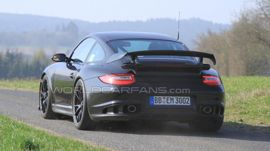 2012 Porsche 911 GT2 Facelift Finally Spied
