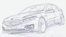 Unidentified 2011 BMW 3-series design sketch