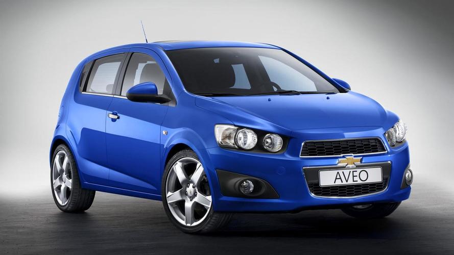 Full Production Chevrolet Aveo revealed