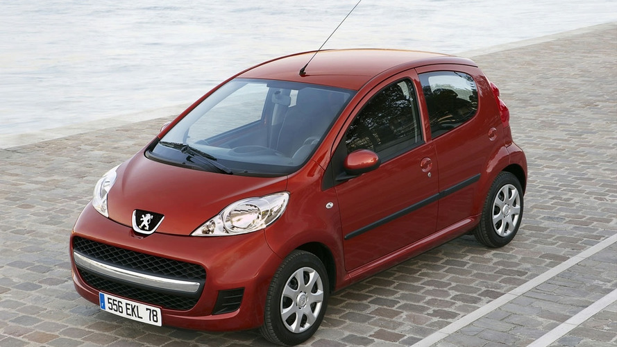 Peugeot 107 Facelift Revealed