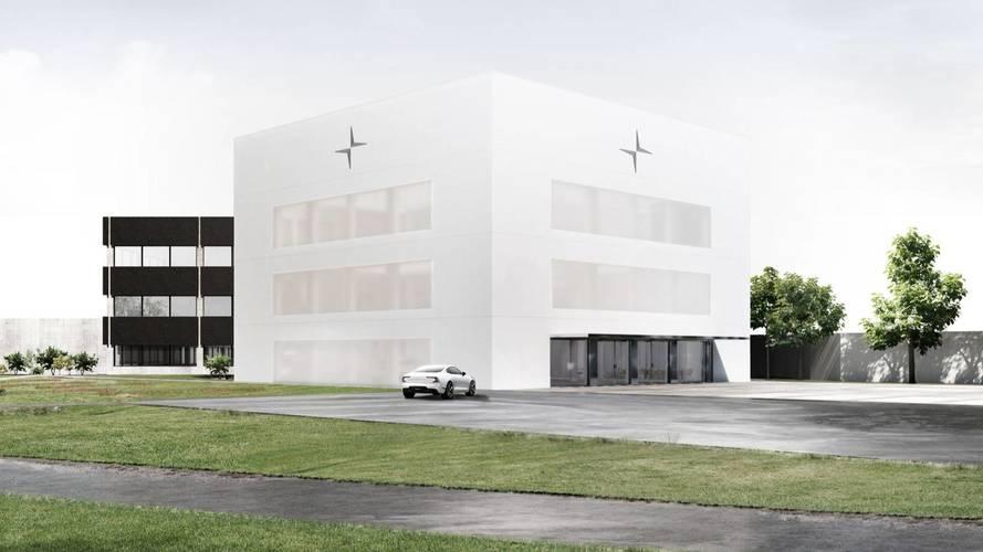 Kezdetét vette a Polestar különleges megjelenésű központjának építése
