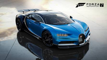 Finally, Bugatti Chiron Joins Forza 7 With Dell Gaming Car Pack