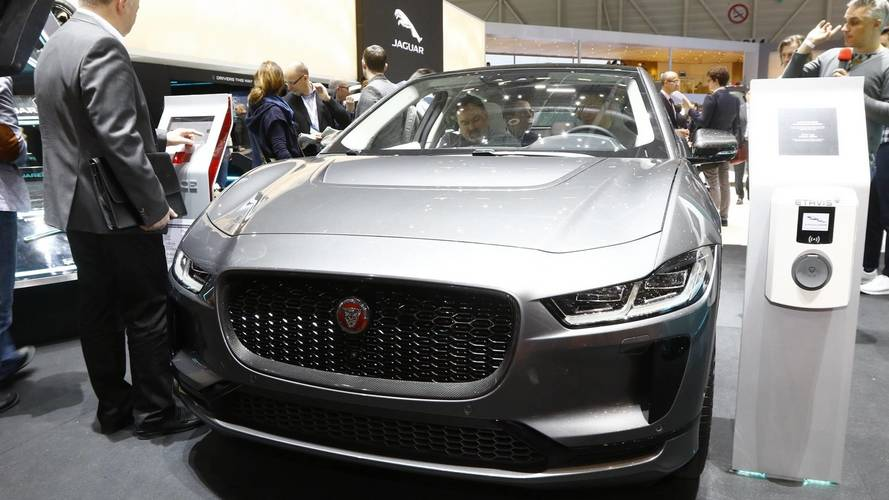 Production version of Jaguar I-Pace shown for first time