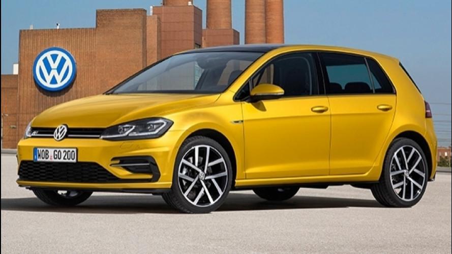 Volkswagen Golf restyling, in arrivo il 1.0 TSI da 85 e 110 CV