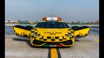 Una Lamborghini Huracan per l'Aeroporto di Bologna