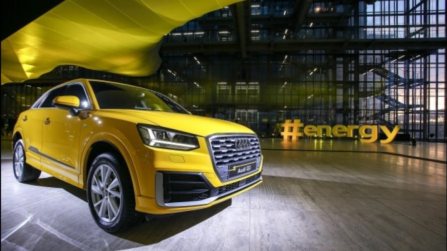 Audi Q2 #untaggable, presentazione in grande nella Nuvola di Fuksas [VIDEO]