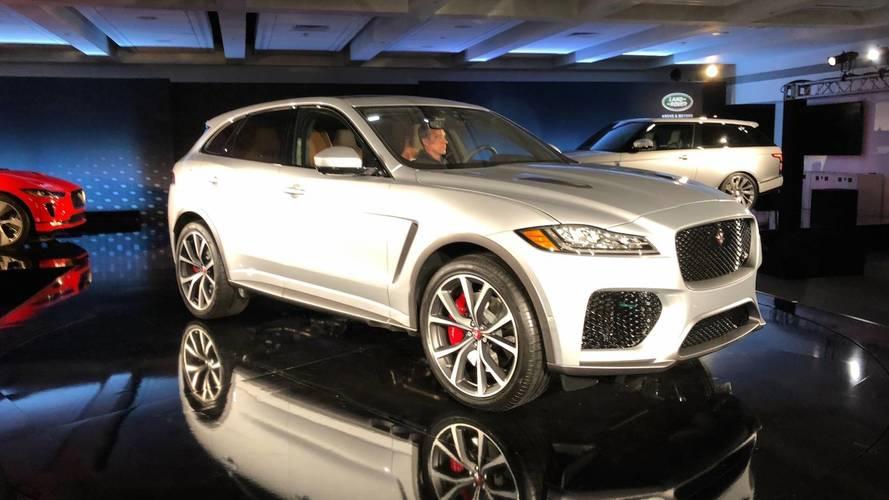 550 hp jaguar f pace adds utility to the svr range. Black Bedroom Furniture Sets. Home Design Ideas