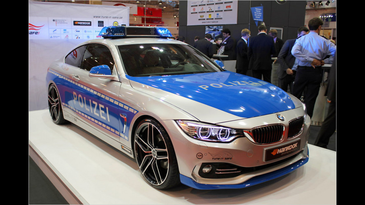 AC Schnitzer BMW 4er Polizei-Umbau