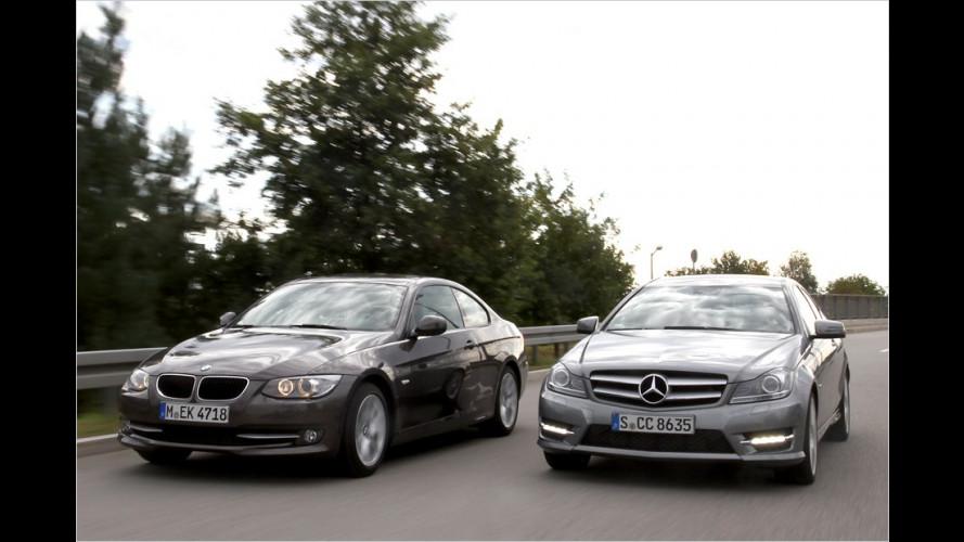 Benz oder BMW: Welches Mittelklasse-Coupé ist besser?