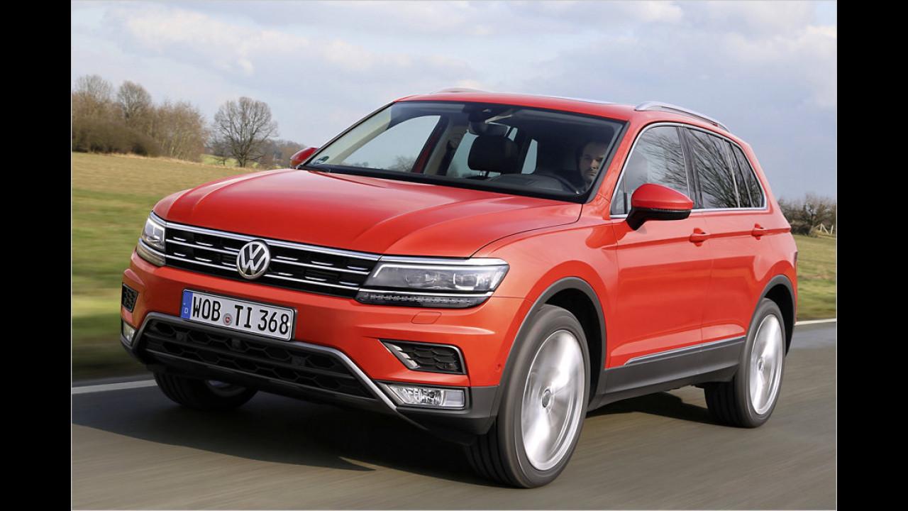 SUV: VW Tiguan