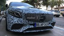 Mercedes Clase S Coupé 2018 fotos espía