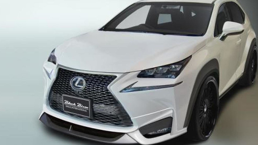 Lexus NX gets an aggressive styling package from Wald International