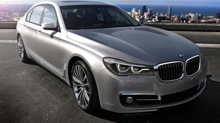 2016 BMW 7-Series speculatively rendered