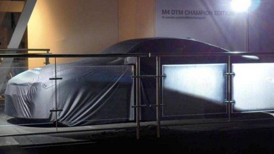 BMW M4 DTM Champion Edition teased ahead of tomorrow's reveal