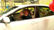 Tom Keith wins a brand new Toyota Camry in factory raffle