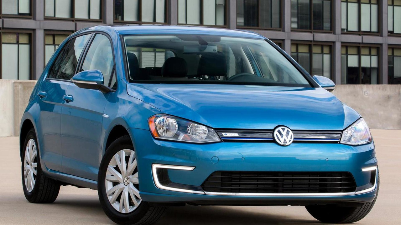 2015 Volkswagen e-Golf Limited Edition (US-spec)