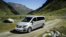 Mercedes V 250 BlueTEC with 4MATIC