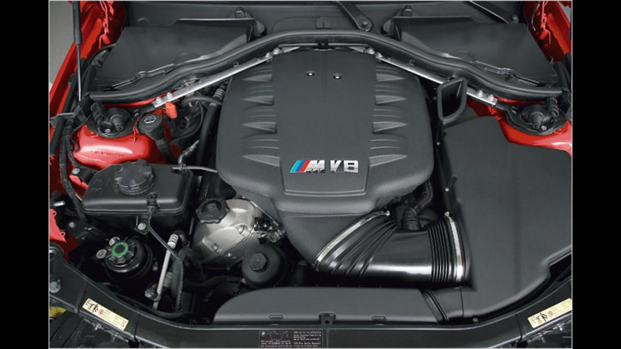 Bester Motor von 3,0 bis 4,0 Liter Hubraum: BMW Vierliter-V8