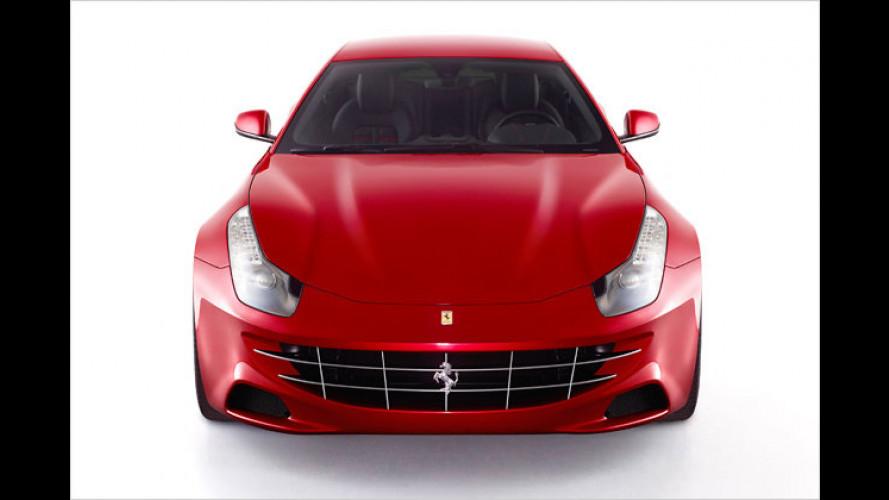Famoser Feger: Ferrari Four wird Raumwunder