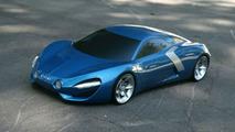 Renault Alpine rendering