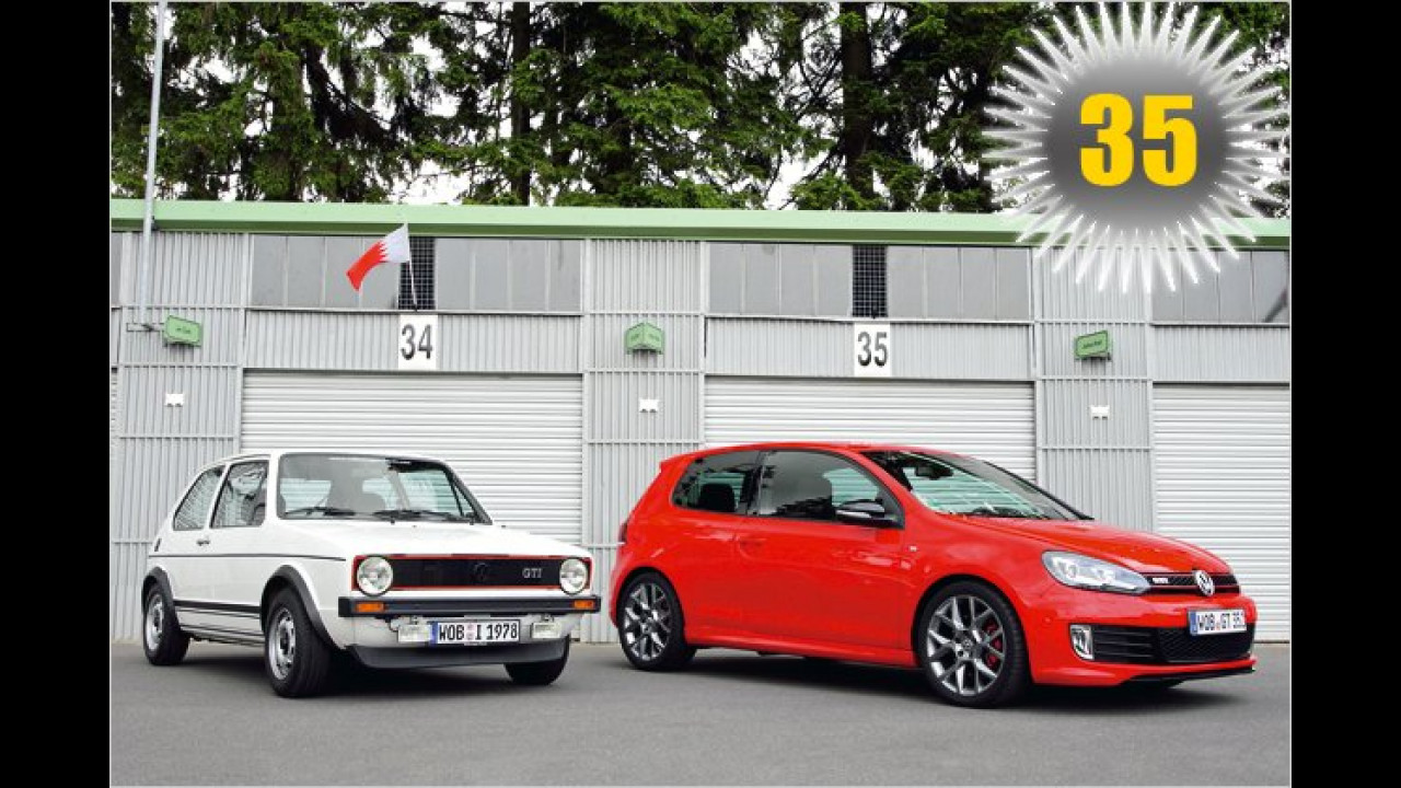 35 Jahre VW Golf GTI