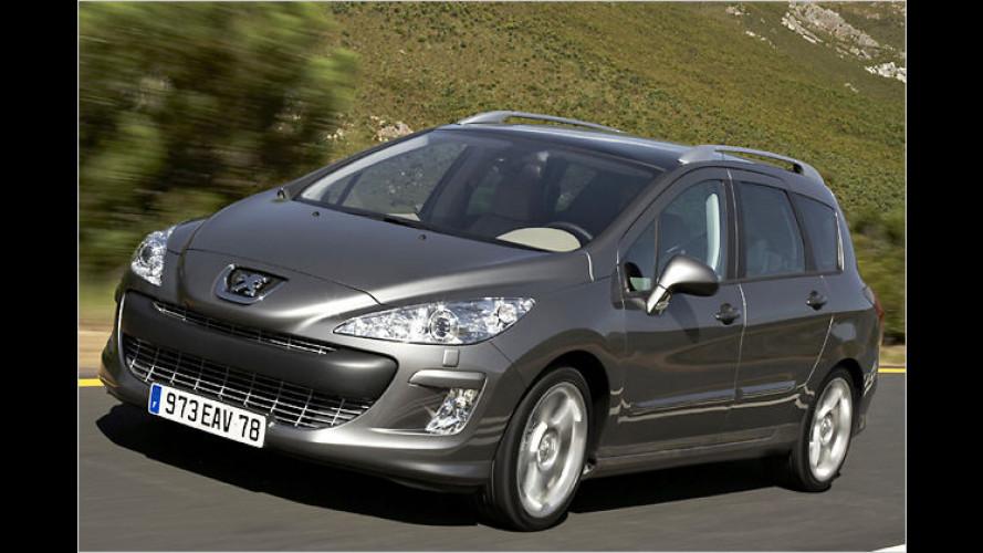Peugeot 308 SW: Der Kompaktklasse-Kombi steht in Genf