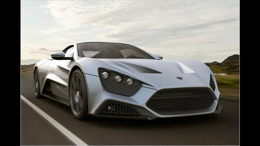 Zenvo ST1 mit 1.104 PS: Supersportler der Veyron-Klasse