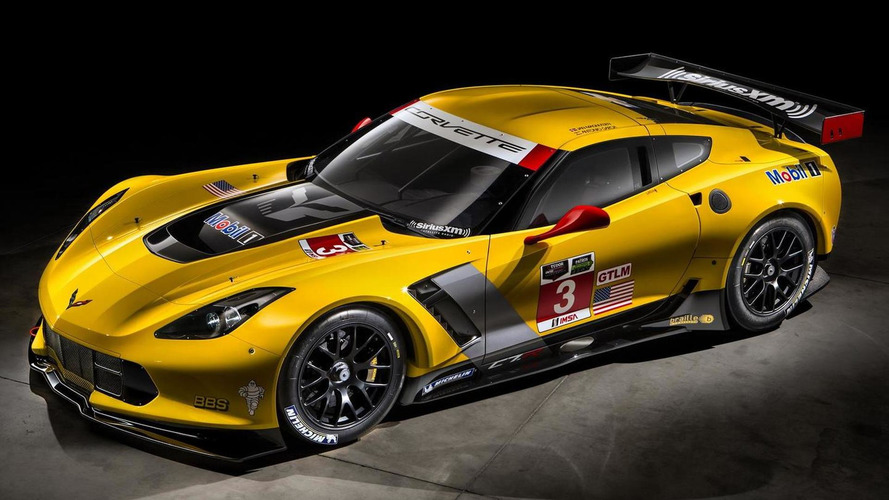 2014 Chevrolet Corvette C7.R looks menacing in leaked official pics