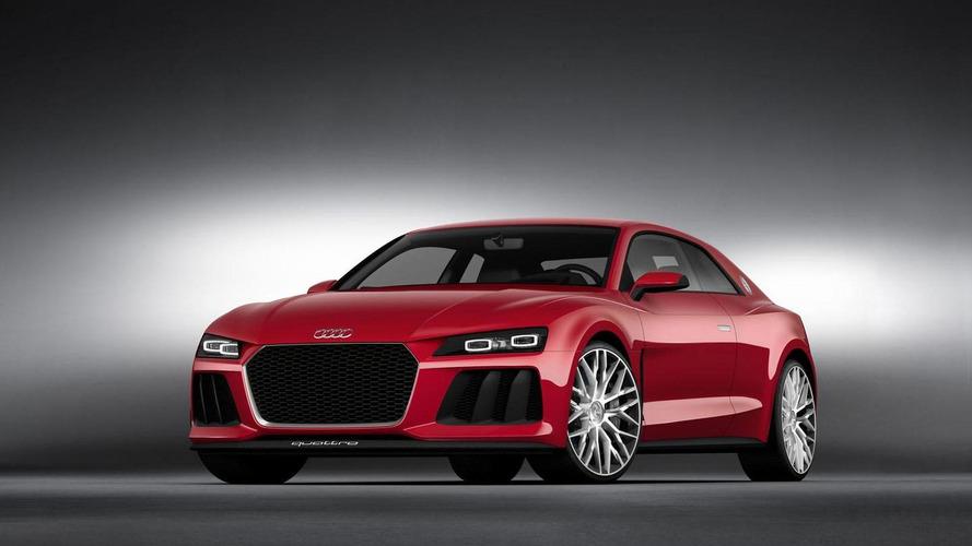 Audi Sport quattro - Pas de version de série prévue