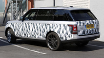 2014 Range Rover long wheelbase spy photo 25.07.2013